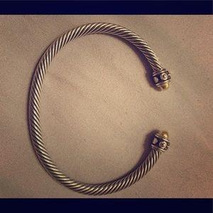 David Yurman Renaissance Gold/Silver Bracelet